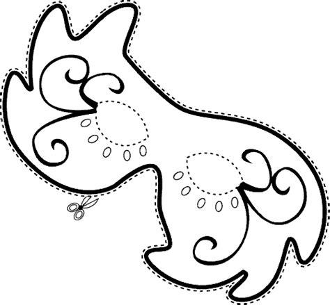 stampa disegno  maschera  carnevale da colorare