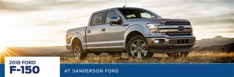 2018 Ford Truck Line Up  Sanderson Ford  Phoenix, Az