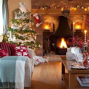 15, Great, Living, Room, Christmas, Decorations, Ideas, For, Inspriation