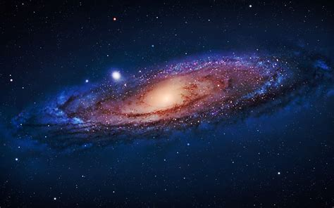 Andromeda Galaxy Galaxies Outer Space Stars Wallpaper