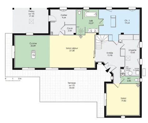 maison en l d 233 du plan de maison en l faire construire sa maison