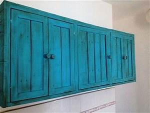 diy pallet hanging kitchen cabinet With what kind of paint to use on kitchen cabinets for hanging material wall art