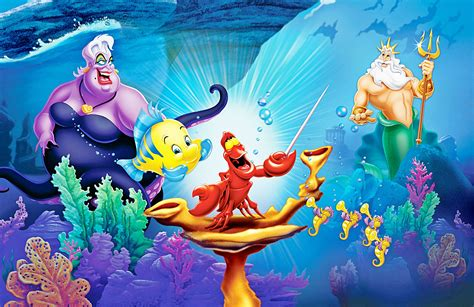 Disney Animation Wallpaper - mermaid background 183 free stunning