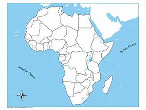 Unlabeled Africa Control Map Kid Ease