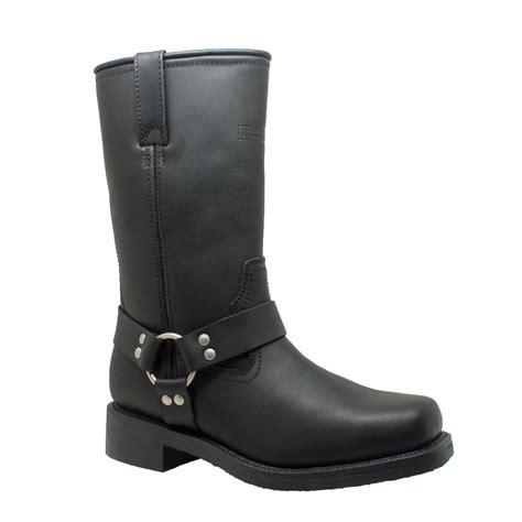 wide motorcycle shoes ride tecs men 39 s black 13 quot waterproof harness motorcycle