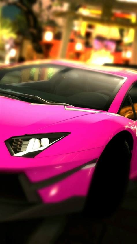pink sports car wallpaper  iphone wallpapers
