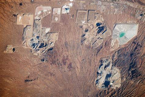 Open Pit Mines, Southern Arizona : Image of the Day