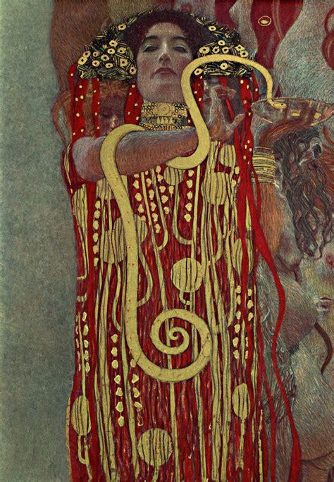 Klimt La by Gustav Klimt S Haunting Paintings Get Re Created In