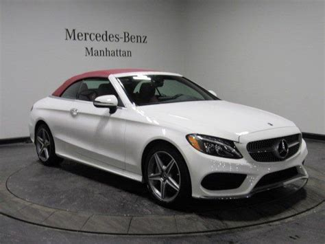 Went in to buy my first mercedes. Certified 2018 Mercedes-Benz C 300 4MATIC Cabriolet New ...