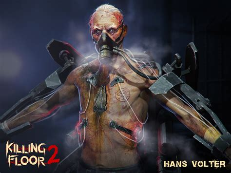 killing floor 2 debuts new boss character hans volter