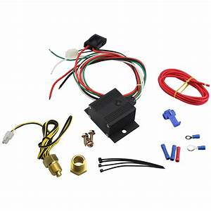 Tsp  Electric Fan Controller Wiring Harness Kit  150 To
