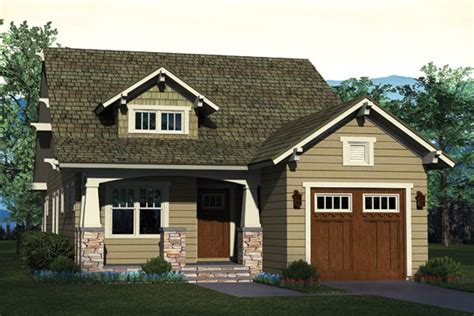 Long And Narrow Craftsman House Plan