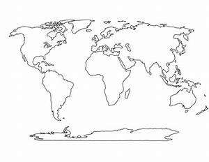 World Map Blank Printable