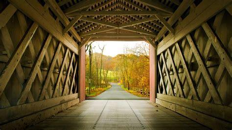 Yorklyn Covered Bridge Bing Wallpaper Download