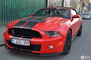 Mustang Shelby Gt 500 Prix : ford mustang shelby gt500 convertible 2010 10 avril 2014 autogespot ~ Medecine-chirurgie-esthetiques.com Avis de Voitures