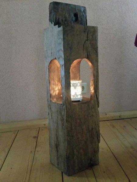 Holzbalken Behandeln by Kerzenst 228 Nder Alteiche Windlicht Holzstele Teelicht