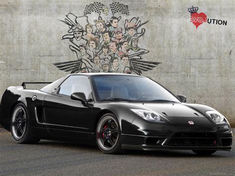 amazing honda in honda nsx in amazing black color car pictures images
