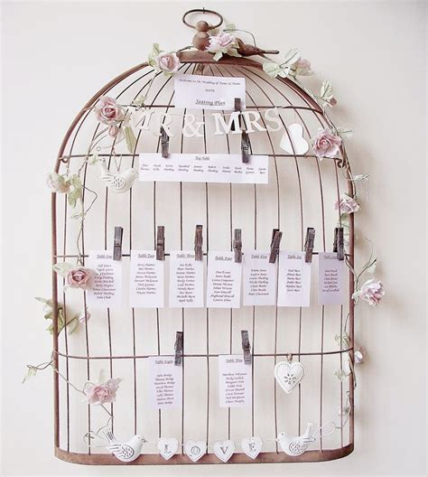 ma d 233 co passe 224 table inspiration cages 224 oiseau mariage best wedding ideas