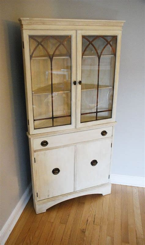 antique corner china cabinet woodworking projects plans