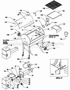 Traeger Bbq075 Parts