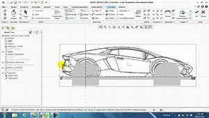 Creo Parametric - Importing And Tracing An Image