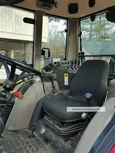 2008 Mahindra 7010 70hp 4x4 Cab Tractor With Front End