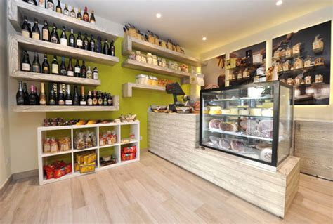store arredamento grocery stores and gastronomies design and furnishing