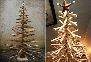 Weihnachtsbäume Aus Holz : weihnachtlich dekorieren mit diy weihnachtsb umen freshouse ~ Orissabook.com Haus und Dekorationen