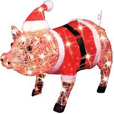 pink christmas pig outdoor decoration 1000 images about pig tree on pigs ornaments and wooden scrabble tiles