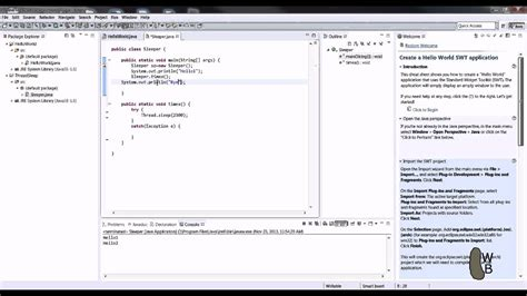 Sleep Java by Java Thread Sleep Wait Tutorial Youtube