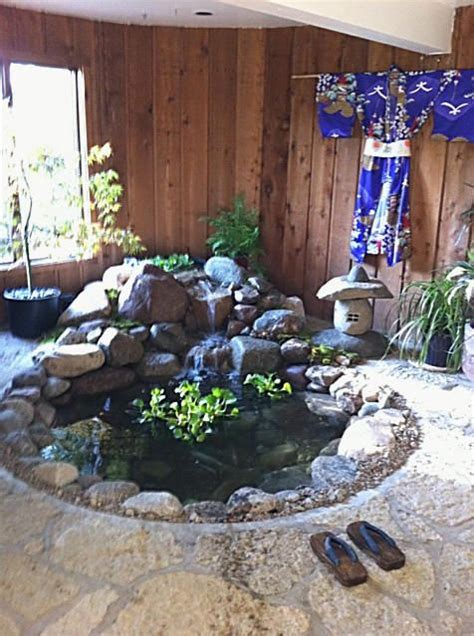 indoor koi pond images  pinterest