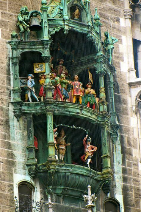 germany munich glockenspiel clock clocks rathaus encore marienplatz travel bavaria vienna visit pan peter german tower pdf muenchen uploaded ohio
