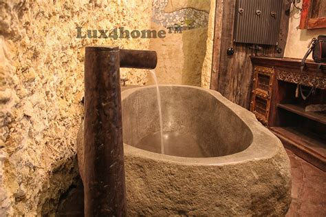river stone bathtub producer soaking bathtub luxhomecom