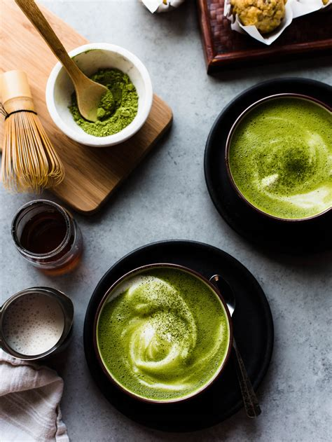 green tea kitchen almond matcha green tea latte kitchen confidante 174 1469