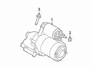 Ford Fusion Starter Motor  Liter