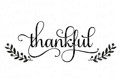 ✓ free for commercial use ✓ high quality images. Thankful Thanksgiving SVG Cutting File By Designs by ...