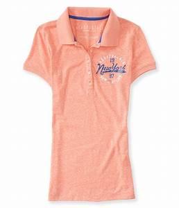 Aeropostale Womens New York City Polo Shirt | Womens ...