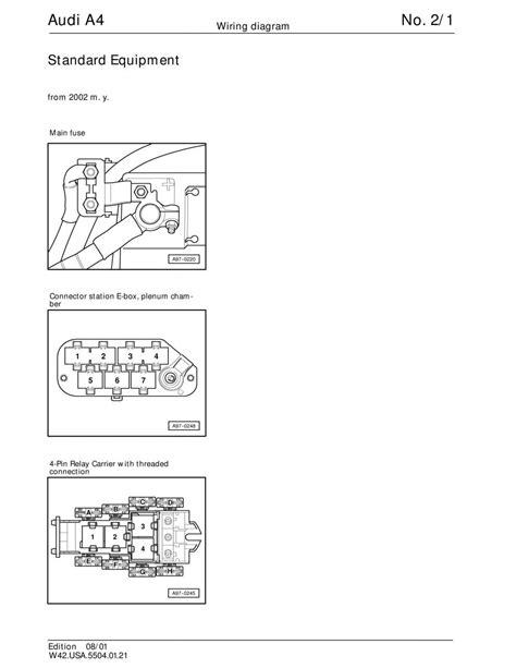 manual audi a4 b5 audi a4 b5 wiring diagrams schematy page pdf