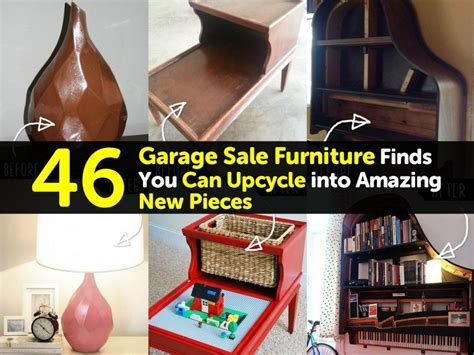 46 Garage Sale Furniture Finds You Can Upcycle into