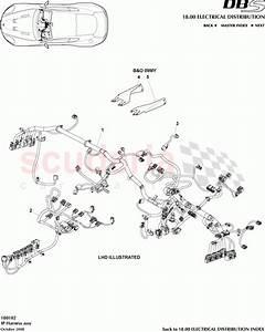 Aston Martin Dbs V12 Ip Harness Assembly Parts