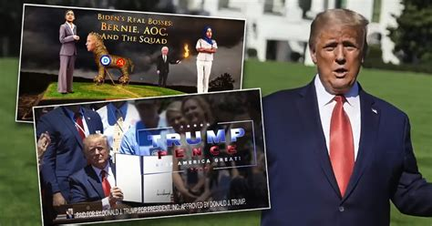 ads campaign states swing pulling trump money fire ring