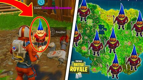 Download All Secret Hidden Gnome Locations In Fortnite