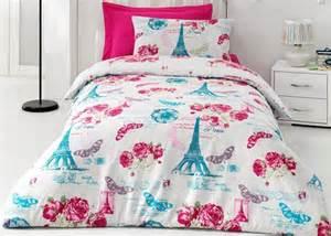 100 cotton 3pcs paris eiffel tower twin single duvet cover