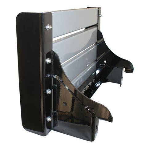 push bar   series black powder coat hepfner