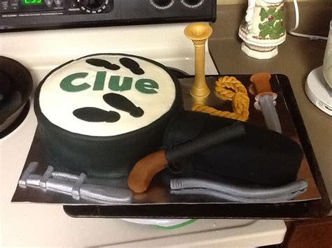 clue murder mystery birthday cake  cakes