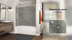 utile par maax panneaux muraux pour douche youtube With resine pour carrelage salle de bain