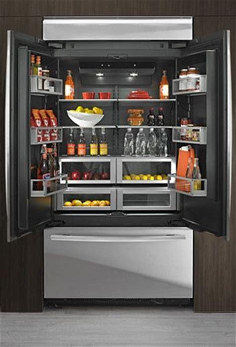 jenn air obsidian french door fridge   luxury    easier   food