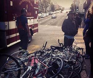 Driver Plows Through Bike Corral at Duboce and Valencia ...