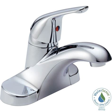 Delta Celice Centerset Faucet by Delta Foundations 4 In Centerset Single Handle Bathroom