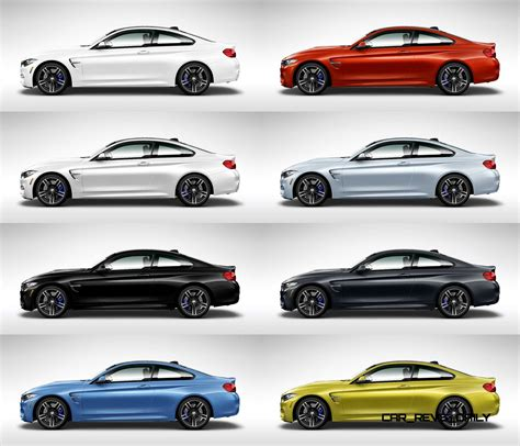 2015 bmw m4 colors